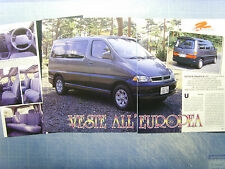 AUTO995-RITAGLIO/CLIPPING/NEWS-1995-TOYOTA GRANVIA 2.7 - 3 fogli