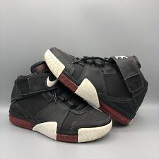 2004 Nike Air Lebron Ii 2 Black Varsity Red White 309675-011 Sz 6y