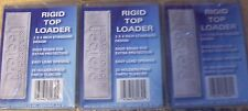 "LOT OF 3 SEALED PACKS ~ RIGID BY PRO TECH 3"" X 4"" REGULAR TOP LOADERS"