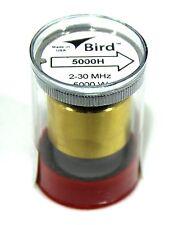 Bird 43 Wattmeter Element 5000H 2-30 Mhz 5000 Watts 5Kh 5Kw (New)