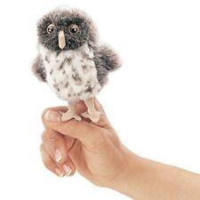 Folkmanis Mini Spotted Owl Finger Puppet