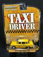 """1975 Checker Taxicab """"Taxi Driver"""" 1976 Hollywood Series 1:64 Greenlight 44860B*"""