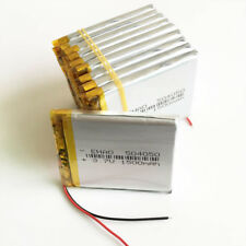10 pcs 3.7V 1500mAh LiPo Battery For Tablet PC bluetooth camera DVD power 504050