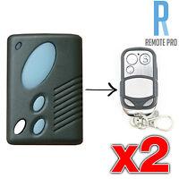 2 x Gliderol TM305C GRD2000 GTS2000 Garage/Gate Door Remote Control - NEW!