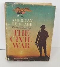 Vintage The American Heritage Picture History of The Civil War 1960 HD DJ