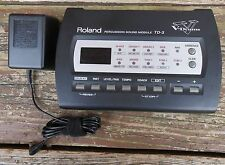 Roland TD-3 Percussion Module with Power Adapter-Deduct $10 w/o adapter