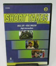 Short Takes: Level 3 Interactive Real Life - Real English Pc Cd-Rom, Xp/Vista/Mc