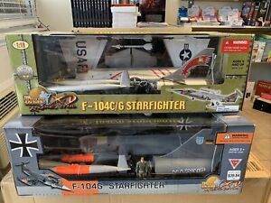 1/18 Ultimage Soldier F-104C/G And F-104G Starfighters!!  Two Models!!