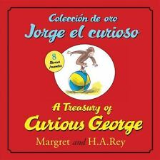 Coleccion de oro Jorge el curioso/A Treasury of Curious George-ExLibrary