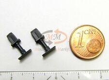 Ersatz-Puffer-Paar anthrazitgrau L+R z.B. für ROCO Elektrolok Ae 8/14 H0 NEU