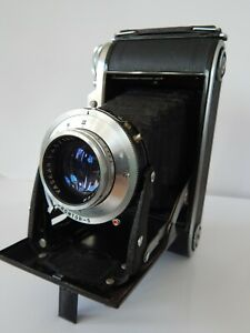 Vintage Voigtlander Bessa I Folding Camera With Case