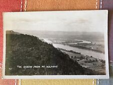 The Oxbow from Mt. Holyoke, Massachusetts Real Photo