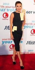 Victoria Beckham Colour Block Dress UK 6 100% Authentic