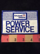 Vintage UNITED DELCO POWER SERVICE Uniform / Advertising Patch 83N1