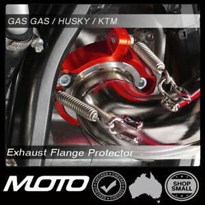Exhaust Flange Protector GAS GAS KTM HUSQVARNA 17-22 Enduro Parts 150 250 300