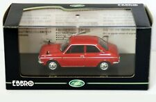 WOW EXTREMELY RARE Subaru FF-1 1100 2D Sports Sedan RHD 1969 Red 1:43 Ebbro-DISM