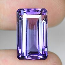 14.58 CTS AMAZING QUALITY VIOLET COLOR NATURAL AMETHYST LOOSE GEMSTONE