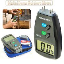 4-Pin Digital Medidor de Humedad detector Tester madera madera húmeda Pro Sensor De Yeso