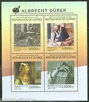 GUINEA 2014 ALBRECHT DURER  PAINTINGS  SHEET MINT NH