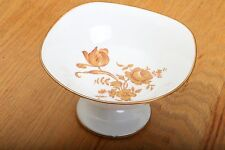 Limoges France Compote Candy Dish Gold Flowers
