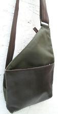 - LE TANNEUR  sac à main bandoulière   vintage  toile et cuir  TBEG   bag