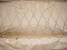 17+y COWTAN TOUT INCREDIBLE BRENTWOOD TRELLIS SAND SILK UPHOLSTERY FABRIC