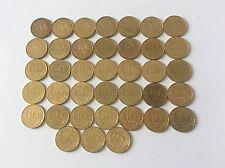 Série complète 38 pièces 10 Cent. Marianne Bronze alu 1962 à 1998 TTB SUP