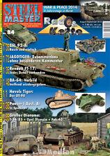 STEELMASTER 84 - Rad & Kette Modellbau 1:72 1:35 1:48 Panzer Jagdtiger Diorama