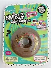 Compound Kings Donut Swirlz Surprise Slime Squishy Scented Ages 4+ Dark/Light B