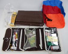 Survival pack equipment Camping Hiking Tarp Bag Water Tabs Utencils Blanket