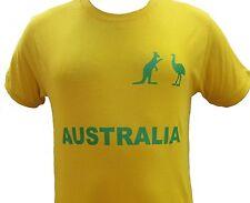 Rugby Cricket Men / Women Shirt Fan Supporter Australia 100% Cotton