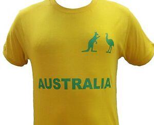 Australian Souvenir Fan Supporter Shirt Men / Women 100% Cotton