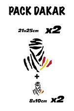 VINILO DAKAR BANDERA -BMW-KTM-TRIUMPH-decal-sticker-adhesivo-DAKAR-TRAIL MOTO