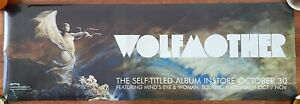 Wolfmother Double Sided Promo Poster. Self Titled Album.