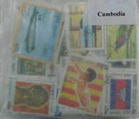 Cambodia 250 Stamps 3 diff available (ww106a)