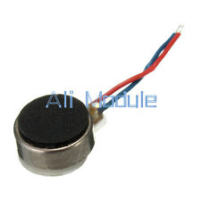 2PCS Coin Flat Vibrating Micro Motor DC 3V 8mm For Pager Cell Phone Mobile