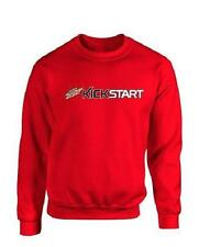 Mtn Dew KickStart Comfort Zone Crew Sweatshirt - Red - (Size XL)  *NEW