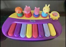 Peppa Pig Musical Keyboard Toy Vguc