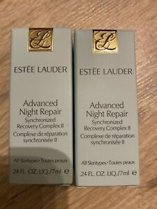Estee Lauder Advanced Night Repair Synchronized Recovery Complex ll  Serum7ml X2