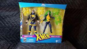 Marvel Legends Xmen Action Figure 2 Pack Havok and Polaris NEW some shelf wear