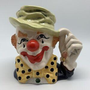 ROYAL DOULTON - The Clown D6834 Large Character Jug