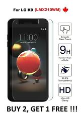 For LG K9 (LMX210WM) - Tempered Glass Premium HD Hard Screen Protector Cover
