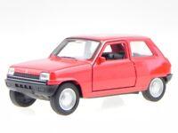 Renault 5 R5 rojo coche en miniatura 43740 Welly 1:34