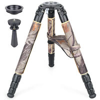 ARTCISE Camouflage Heavy Duty Carbon Fiber Tripod for DSLR Camera Ultra Stable