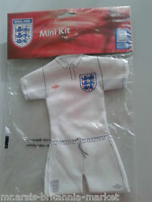 ENGLAND - MINI TRIKOT - MINI KIT - AUTOTRIKOT - THREE LIONS
