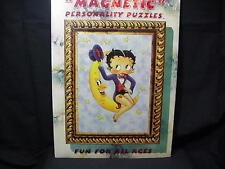 BETTY BOOP PUZZLE 36 PIECES SITTING ON MOON  DESIGN  (RETIRED ITEM)