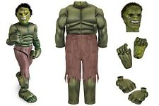 NWT Disney Store The Avengers Deluxe Hulk Muscle Costume for Boys L (10)