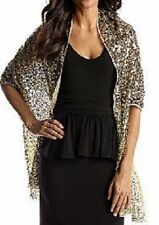 Betsey Johnson Gold Ombre Sequin Wrap - MSRP $100 - GORGEOUS!!!