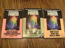 ANTHONY ROBBINS PERSONAL POWER #3,5 & 12 CASSETTE SETS A 30 DAY PROGRAM