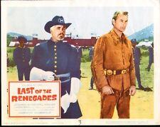 WINNETOU original 11x14 movie lobby card poster LEX BARKER/KARL MAY